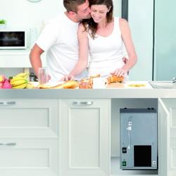 OSMOMYWATER: osmosi inversa diretta con frigo-gasatore incorporato (liscia/frizzante, temp.ambiente/fredda)