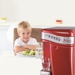 COSMETAL NIVES: erogatore d'acqua soprabanco (liscia/frizzante, temp.ambiente/fredda/calda)