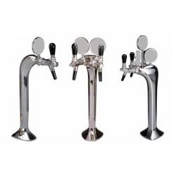 PRINCES KIT: kit completo rubinetto ad 1/2/3 vie meccanico