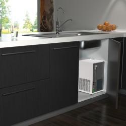 COSMETAL H2OMY IN: frigo-gasatore da incasso (liscia/frizzante, temp.ambiente/fredda/calda)
