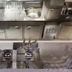COSMETAL NIAGARA IN: erogatore d'acqua da incasso (liscia/frizzante, temp.ambiente/fredda)